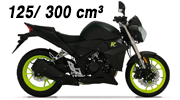 Motos Magpower 125 300