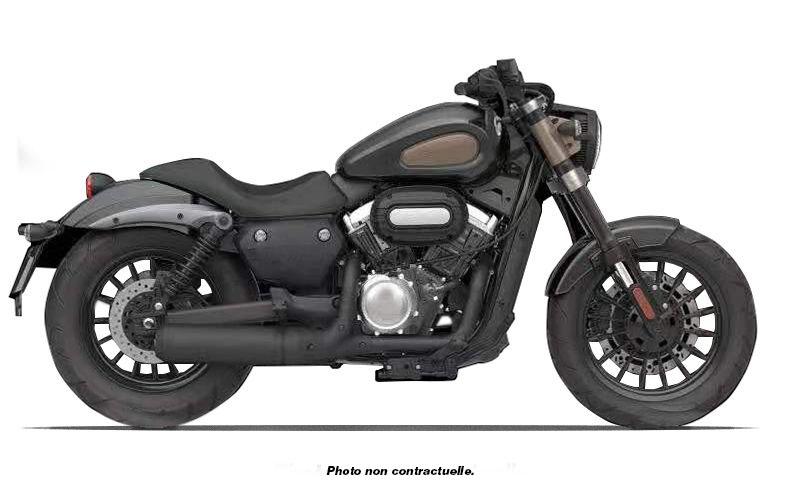 Vue de profil de la moto Magpower Avengers 125cm³
