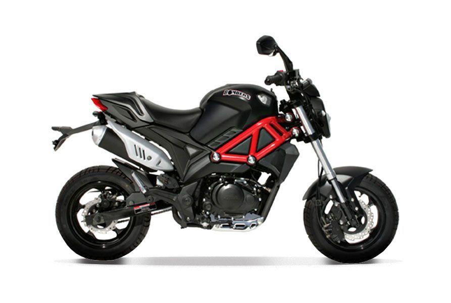 mini moto roadster magpower bombers 125cm3. Black Bedroom Furniture Sets. Home Design Ideas